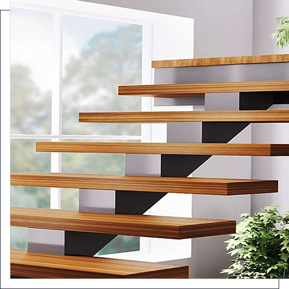 stairs and treads